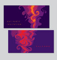 abstract hookah smoke shape vector image vector image