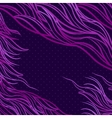 Abstract pattern waves background vector image