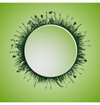 green circle vector image vector image