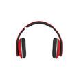 headphones isolated vector image vector image