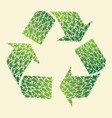 Leaf Recycle vector image