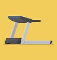 Treadmill sport equipment vector image vector image