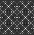 abstract geometric seamless pattern of repeating vector image vector image