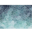 abstract volumetric emerald scales vector image vector image
