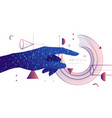 artificial intelligence conceptual vector image vector image