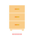 cabinet it is icon vector image