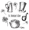 Day of St Patrick vector image vector image