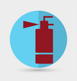 fire extinguisher line icon vector image