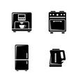 kitchenware simple related icons vector image vector image