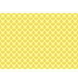 Yellow Squared Texture vector image vector image