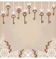 Antique skeleton keys vector | Price: 1 Credit (USD $1)