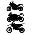Big Bike vector image vector image