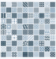 collection of abstract seamless compositions vector image vector image
