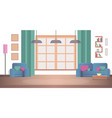 concept view interior desing living room at home vector image vector image