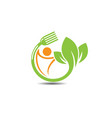farm fresh products unique sign or icon image vector image