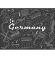 Germany chalk vector image vector image