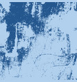 grunge blue background vector image vector image