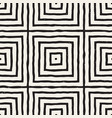 hand drawn seamless repeating pattern with lines vector image