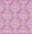 pinl dots seamless pattern pastel retro vector image vector image