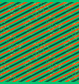 diagonal red and green line pattern with glitter vector image