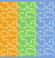 abstract hand drawn sketch pattern for textile vector image