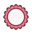badge sticker or emblem icon vector image vector image