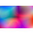 blurred abstract colorful background vector image