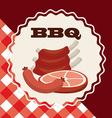 butchery shop vector image vector image