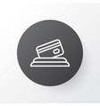 card payment icon symbol premium quality isolated vector image vector image