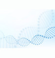 dna chromosome concept science technology vector image