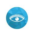eyelash logo vector image vector image