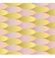 fish scale abstract geometric seamless pattern vector image vector image