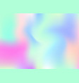 holographic abstract background vector image vector image