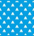 man egypt pattern seamless blue vector image vector image