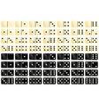 Domino vector image