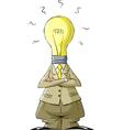 head bulb vector image vector image