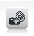 photo sell icon vector image vector image