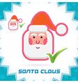 Santa Claus Synbol vector image vector image