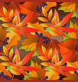 seamless pattern on wooden board with red and vector image vector image