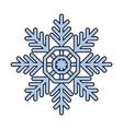 snowflake icon image vector image vector image