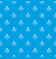 ice cream pattern seamless blue vector image vector image
