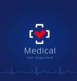 medical centr logo vector image