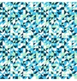 Small mosaic pattern in blue vector image vector image