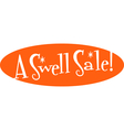 Swell sale retro sign