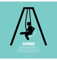 Swing vector image