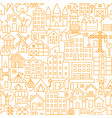 building line seamless pattern vector image vector image