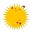 crash stars isolated icon design vector image