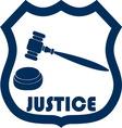 justice2 vector image