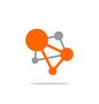 molecule laboratory logo template design eps 10 vector image