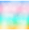 Soft colored abstract mosaic background vector image vector image